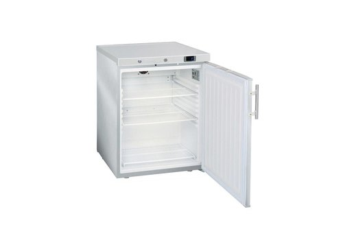 HorecaTraders Refrigerator Mini | Jumbo 200 | Stainless steel (with closed door)