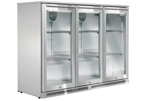 Husky Edelstahl Bar Kühlschrank im Freien 285 Liter