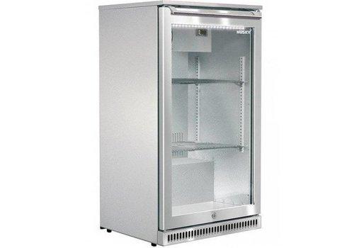 Husky Stainless steel bar fridge outdoor 102 liters