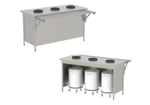 Sofinor Waste sorting table - without door