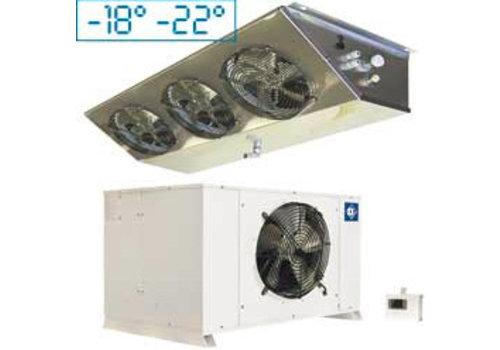 HorecaTraders Complete freezing installation 2610 w | 400v / 50Hz