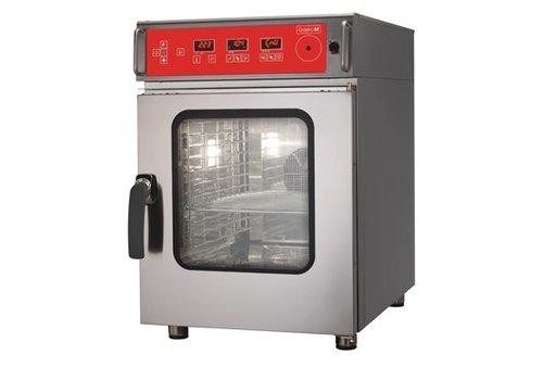 HorecaTraders Combi steam oven 6 x GN1 / 1