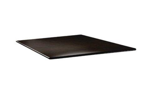 HorecaTraders Square Tabletop | Wengé | 2 formats