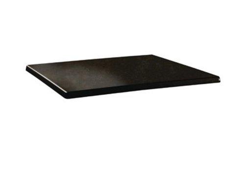 HorecaTraders Tischplatte rechteckig | Laminiertes Holz 2 Formate