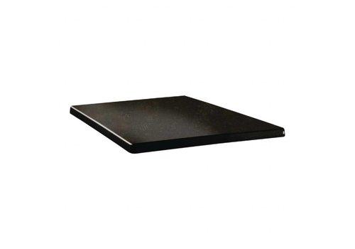 HorecaTraders Topalit Tischplatte Metall 3 Formate