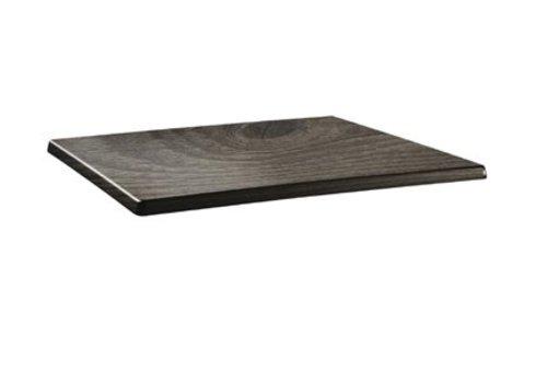 HorecaTraders Tischplatte rechteckig | Holz 2 Formate