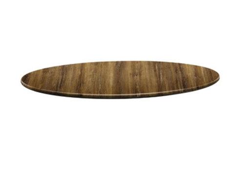 HorecaTraders Runde Tischplatte | Atacama Kirschholz | 2 Formate