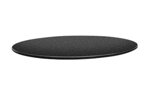 HorecaTraders Runde Tischplatte | Anthrazit 2 Formate