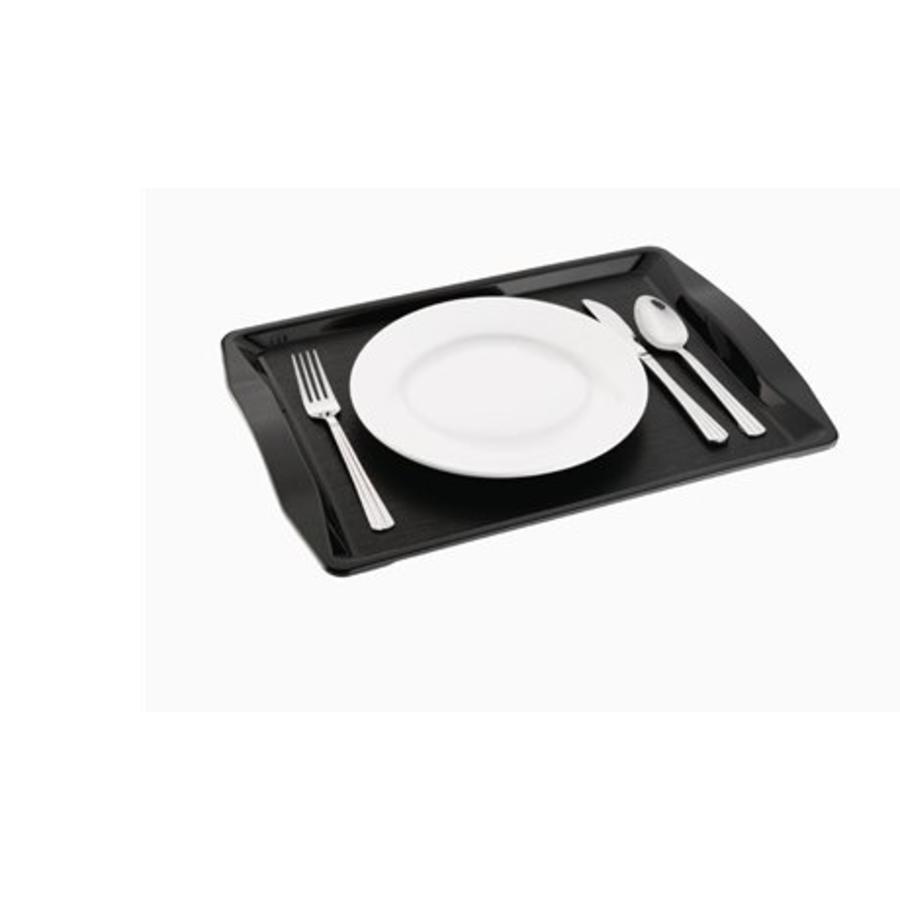 Fastfood Dienblad | Zwart