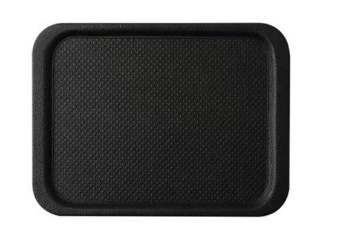 HorecaTraders Anti-Rutsch-Tablett Schwarz