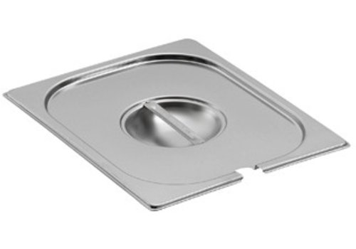 Bartscher GN lids with spoon recess | GN 1/4