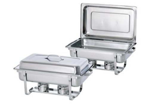 Bartscher Chafing Dish, 1/1GN, Twin Pack Set