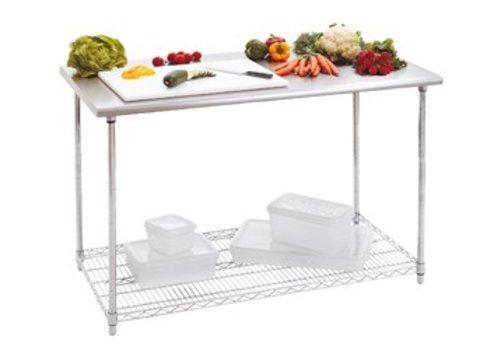 Bartscher Workbench with stainless steel worktop | 120 x 90 x 60cm