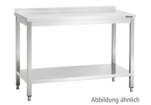 Bartscher Werktafel met Achteropstand | 9 Formaten