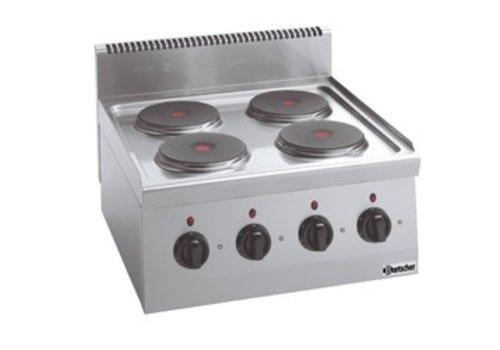 Bartscher Elektrisch kooktoestel | 4 kookplaten
