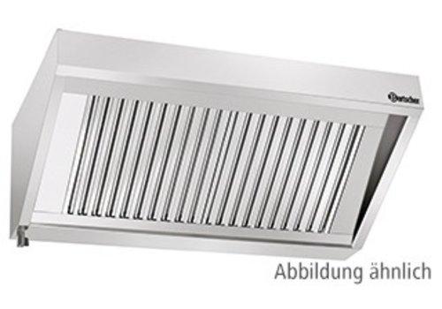 Bartscher Afzuiger Zonder Motor RVS | 160x90x45cm