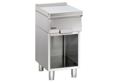 Bartscher Stainless steel workbench with open base   40x70x85cm