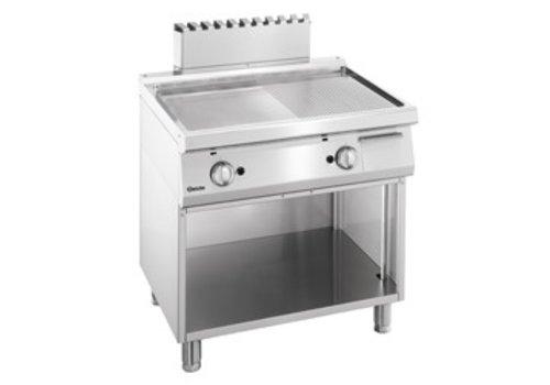 Bartscher Hebt Catering Glatte gewellte | 80x70x85cm