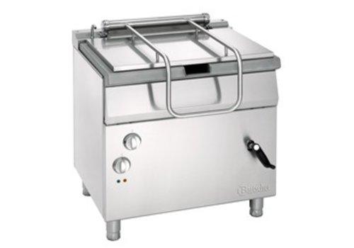 Bartscher Electric tilting frying pan 50 liters | 800x700x850mm