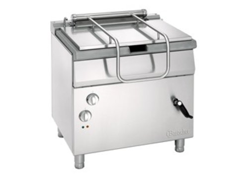 Bartscher Electric tilting pan 700 with manual tilt wheel