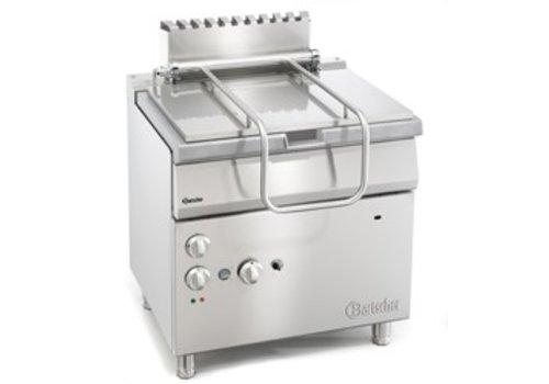 Bartscher Gas tilting casserole 700met electrically operated tilt wheel