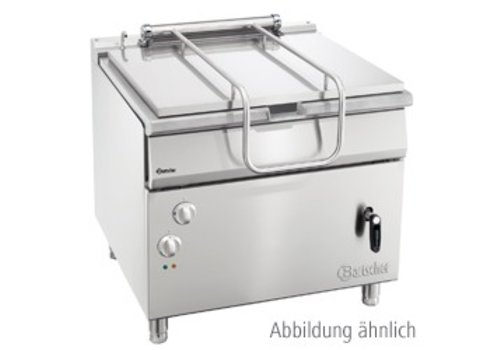 Bartscher Kantelbare braadpan op gas 900 met hand bediend kantelwiel