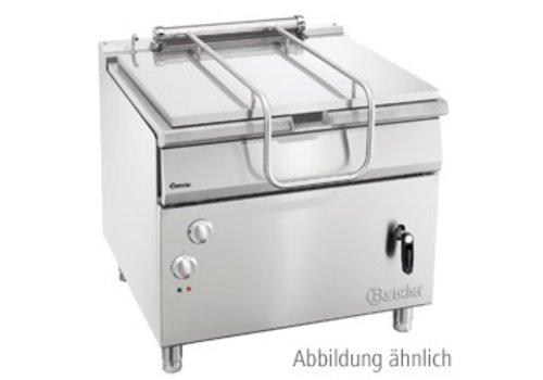 Bartscher Tilting frying pan Gas 85 liters 900 x D 900 x H 850-900 mm