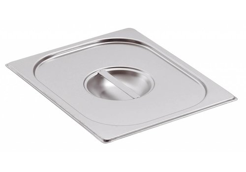 Bartscher Stainless steel GN lid | GN 1/3