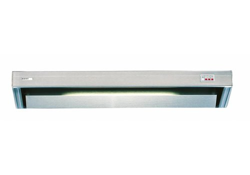 Bartscher Stainless steel exhaust system with lights | 60x52x17 cm