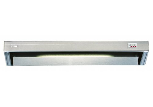 Bartscher Edelstahl-Auspuffanlage mit Beleuchtung   90x52x17cm