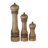 Salt and Pepper Mill Wood 3 formats