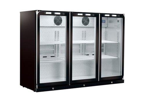 Husky 3-türiger Backbar Cooler | C3THBLACK | 296L