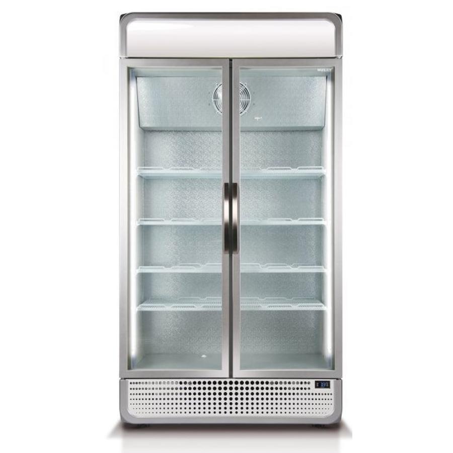 Display koelkast C10PRO-H-HU + C10-CANOPY met led verlichting ...