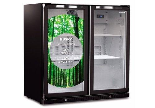 Husky Backbar koeler intelligenzia C2THBLACK 180 liter