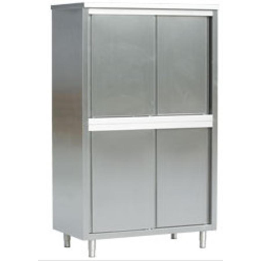 Catraders Storage Cabinet With Sliding Door 70 Cm Depth 3 Sizes