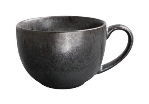 Olympia Schwarze Tassen Porzellan | 25 CL