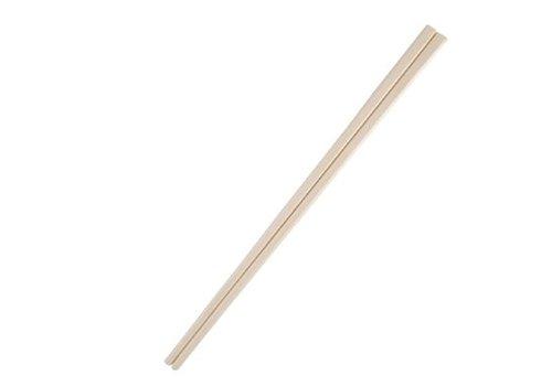 HorecaTraders Einweg Essstäbchen | Holz 21 cm