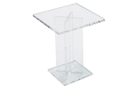 HorecaTraders High Cake Stand Square | 120x120x150 mm