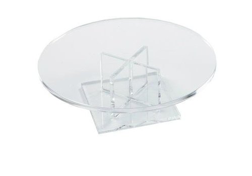 HorecaTraders Low Round Cake Stand 170 x 50 mm