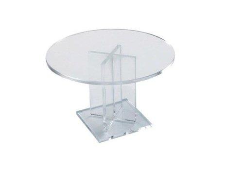 HorecaTraders Half-high round cake stand 170 X 50 mm
