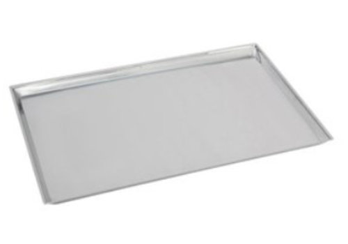 HorecaTraders Rectangular Counter Scale RVS 18/8 | 58x40x2 cm
