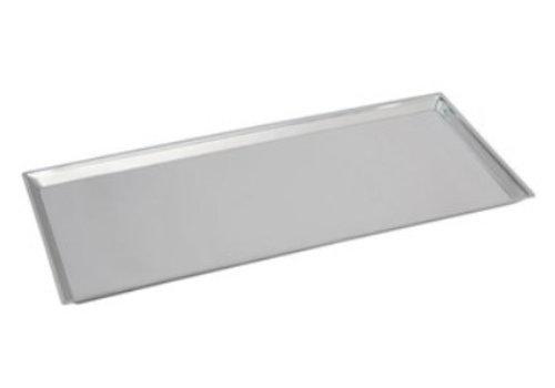 HorecaTraders Rechteckige Zählerskala Edelstahl 18/8 | 68x30x2 cm