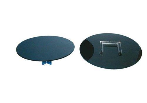 HorecaTraders Round Base for Upright Large Ø300 mm