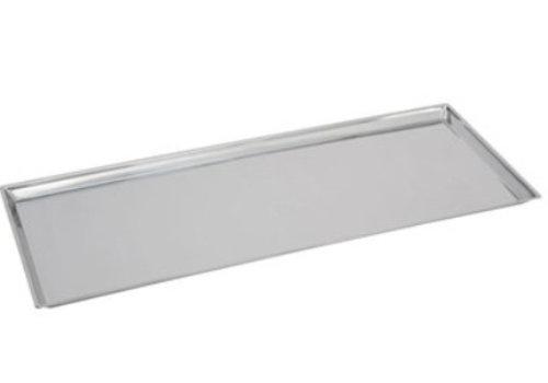 HorecaTraders Rectangular Counter Scale RVS 18/8 | 80x30x2 cm