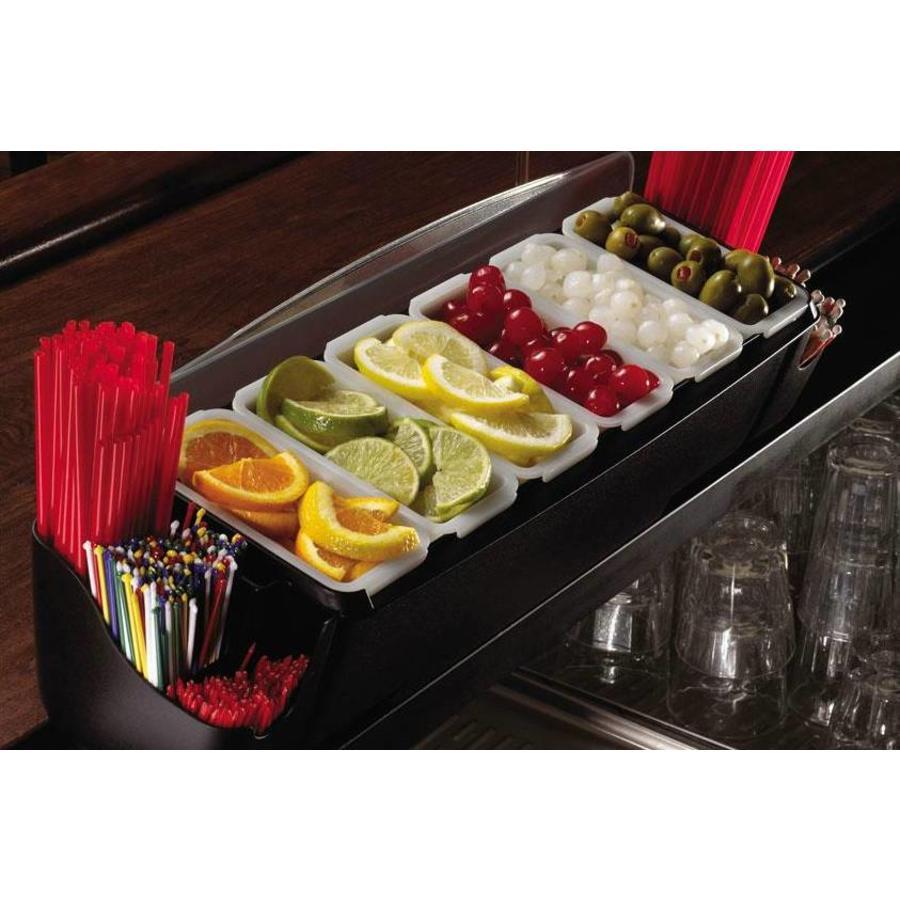 Bar Dispenser + Rietjeshouder | 6 bakjes | 3,3L