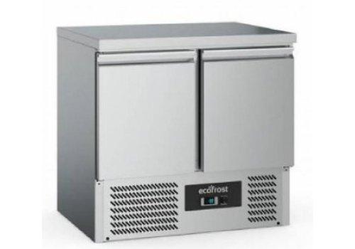 Ecofrost Kühlwerkbank | 2 Türen | 240 Liter