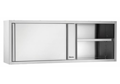 Bartscher Wall cupboard, with sliding doors, W 1800 mm