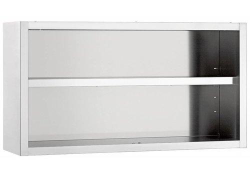 Bartscher Wall cupboard, open, W 1400 mm