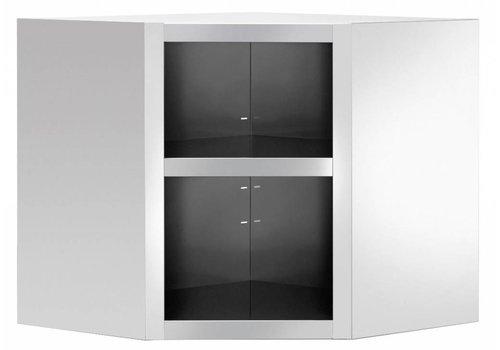Bartscher Corner wall cupboard, open