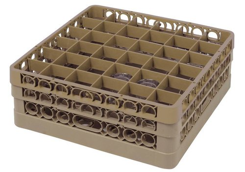 Bartscher Washing basket 36 compartments | 50 x 50 cm